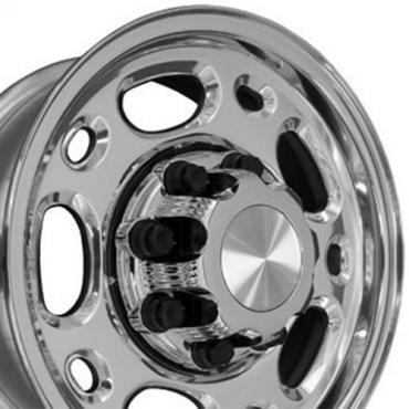 "16"" Fits Chevrolet - 2500 Suburban Wheel - Polished 16x6.5"
