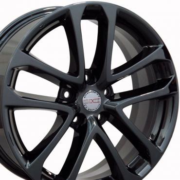 "18"" Fits Nissan - Altima Wheel - PVD Black Chrome 18x7.5"