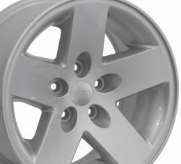 "17"" Fits Jeep - Wrangler Sport OEM Wheel - Silver 17x7.5"