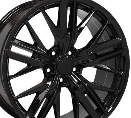 Black Wheel fits Chevrolet Camaro (ZL1 Style) - 20x9.5