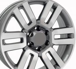 """20"""" Fits Toyota - 4Runner Wheel - Gunmetal Mach'd Face 20x7"""