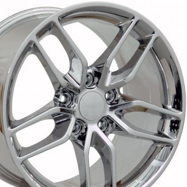 PVD Chrome Wheel fits Corvette C6 (Stingray style) 19x10