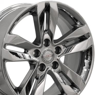 "17"" Fits Nissan - Altima Wheel - PVD Chrome 17x7.5"
