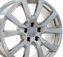 "18"" Fits VW Volkswagen - Golf Wheel - PVD Chrome 18x7.5"