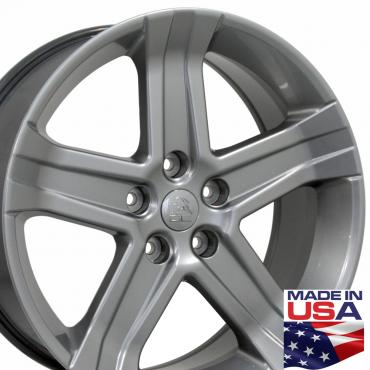 """22"""" Fits Dodge - 1500 Wheel - Hyper Silver 22x9"""
