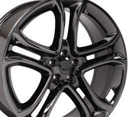 "22"" Fits Ford - Edge Wheel - PVD Black Chrome 22x9"