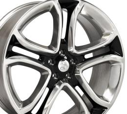 "22"" Fits Ford - Edge Wheel - Black Machined Face 22x9"