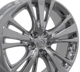 "19"" Fits Lexus -  RX 450 Wheel - PVD Chrome 19x7.5"