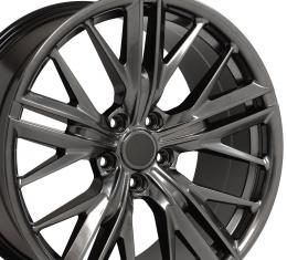 Hyper Black Wheel fits Chevrolet Camaro (ZL1 Style) - 20x8.5