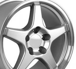 "17"" Fits Chevrolet - Corvette ZR1 Wheel - Silver 17x9.5"