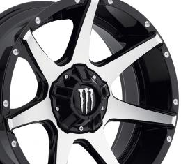 """20"""" Fits Dodge - Monster Energy Limited Edition 647MB Monster Wheel - Gloss Black 20x9"""