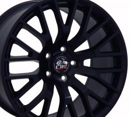 "18"" Fits Ford - 2015 Mustang GT Wheel - Matte Black 18x9"
