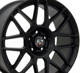 "19"" Fits Ford - Mustang Wheel - Matte Black 19x10"