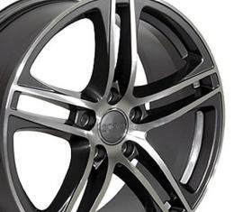 "17"" Fits Audi - R8 Wheel - Gunmetal 17x7.5"