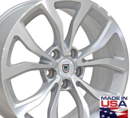 "18"" Fits Cadillac - ATS Wheel - Silver Mach'd Face 18x8"