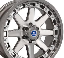 4Play Gunmetal Machined Face Custom Wheel fits GM 6-Lug 20x9