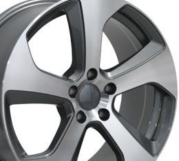 "18"" Fits Volkswagen - GTI Wheel - Gunmetal Machined Face 18x8"