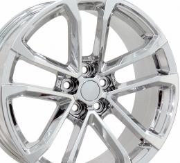 "20"" Fits Chevrolet - Camaro ZL1 Wheel - PVD Chrome 20x9.5"
