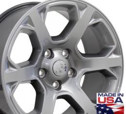 """20"""" Fits Dodge - 1500 Wheel - Hyper Silver 20x9"""