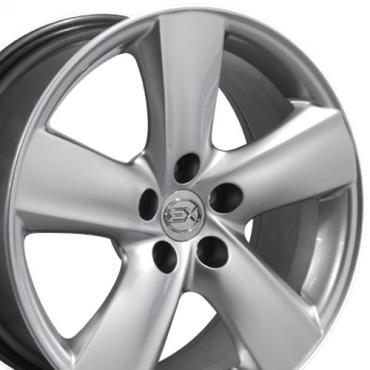 """18"""" Fits Lexus - LS 460 Wheel - Hyper Silver 18x8"""