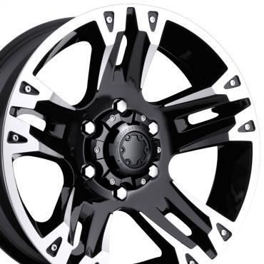 "20"" Fits Chevrolet - Ultra Maverick Wheel - Black 20x9"