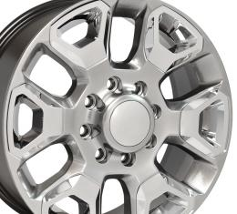 Hyper Silver Replica Wheel with Chrome Inserts fits Ram 2500-3500 - 20x8