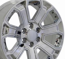 Chrome Replica Wheel fits Chevrolet Silverado 22x9