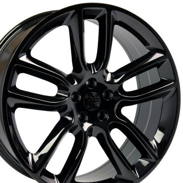 "22"" Fits Ford - Edge Wheel - Gloss Black 22x9"