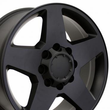 "20"" Fits Chevrolet - Silverado Wheel - Matte Black 20x8.5"