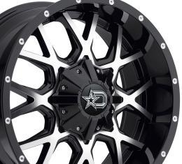 """20"""" Fits Dodge - Dropstars Offroad 645MB Wheel - Gloss Black 20x9"""