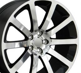 "20"" Fits Chrysler - 300 SRT Wheel - Black 20x9"