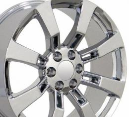 "22"" Fits Cadillac - Escalade Wheel - Chrome 22x9"