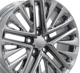 """18"""" Fits Lexus - ES350 Wheel - PVD Chrome 18x7"""