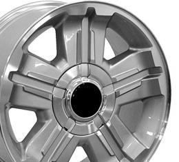 "18"" Fits Chevrolet - Z71 Wheel - Silver 18x8"