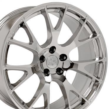 "22"" Fits Dodge - Ram Wheel Replica - Chrome 22x10"