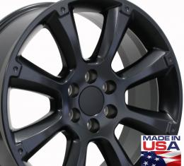 "22"" Fits Cadillac - Escalade Wheel - Matte Black 22x9"