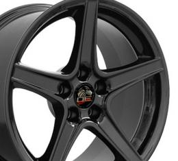 "18"" Fits Ford - Mustang Saleen Wheel - Black 18x9"