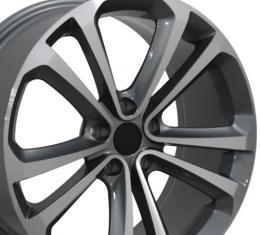 "18"" Fits VW Volkswagen - CC Wheel - Gunmetal 18x8"
