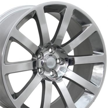 "20"" Fits Chrysler - 300 SRT Wheel - Polished 20x9"
