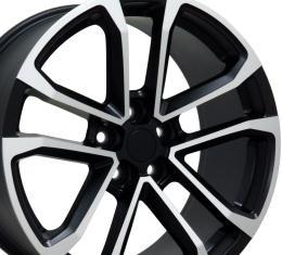 "20"" Fits Chevrolet - Camaro ZL1 Wheel - Matte Black Mach'd Face 20x8.5"