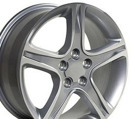 "17"" Fits Lexus - IS Wheel - Silver 17x7"