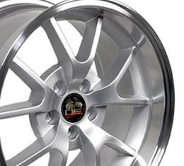 "18"" Fits Ford - Mustang FR500 Wheel - Silver 18x10"