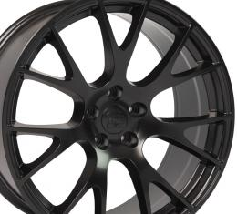 "22"" Fits Dodge - Ram Wheel Replica - Satin Black 22x10"