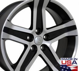 "22"" Fits Dodge - 1500 Wheel - Matte Black Mach'd Face 22x9"