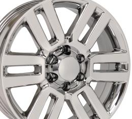 "20"" Fits Toyota - 4 Runner Wheel - PVD Chrome 20x7"
