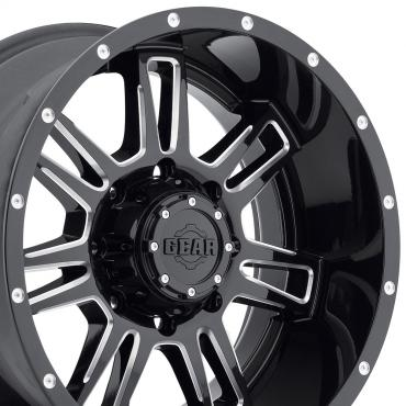 "20"" Fits Dodge - Gear Alloy Challenger Wheel - Gloss Black 20x9"