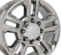 PVD Chrome Truck Rims fit Chevrolet Silverado 2500/3500 - 20x8.5