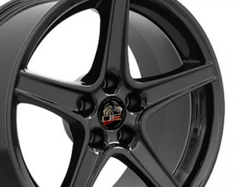 "18"" Fits Ford - Mustang Saleen Wheel - Black 18x10"