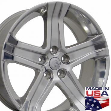 "22"" Fits Dodge - 1500 Wheel - Polished 22x9"