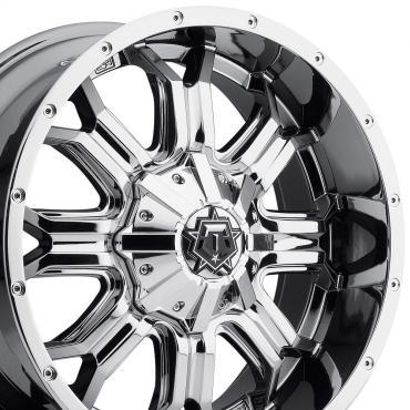 "20"" Fits Dodge - TIS Offroad 535V Wheel - PVD Chrome 20x9"